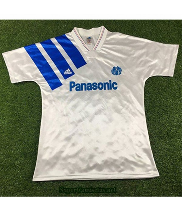Tailandia Primera Equipacion Camiseta Camisetas Clasicas Marsella Hombre 1991 92
