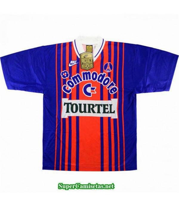 Tailandia Primera Equipacion Camiseta Camisetas Clasicas Psg Hombre 1993 94