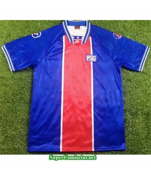 Tailandia Primera Equipacion Camiseta Camisetas Clasicas Psg Hombre 1994 95