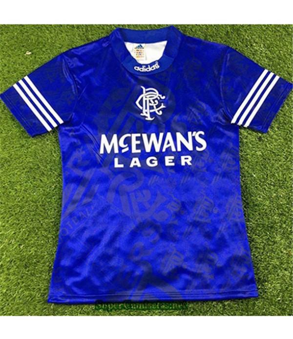 Tailandia Primera Equipacion Camiseta Camisetas Clasicas Rangers Hombre 1994 96