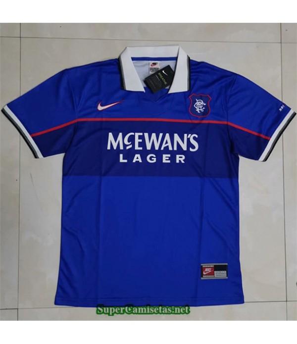 Tailandia Primera Equipacion Camiseta Camisetas Clasicas Rangers Hombre 1997 99