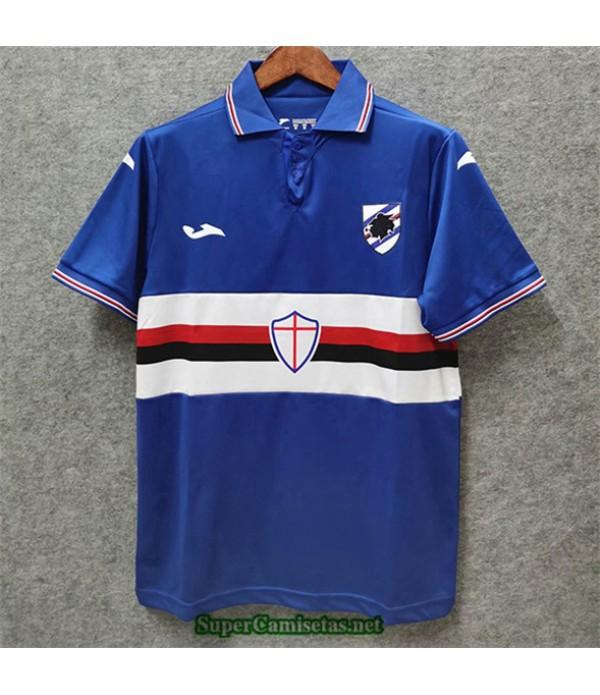 Tailandia Primera Equipacion Camiseta Camisetas Clasicas Sampdoria Hombre