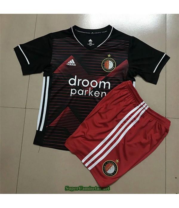 Tailandia Primera Equipacion Camiseta Feyenoord Niños 2020/21