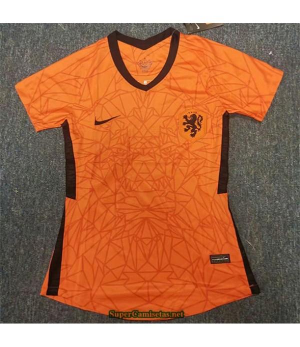 Tailandia Primera Equipacion Camiseta Países Bajos Mujer 2020/21