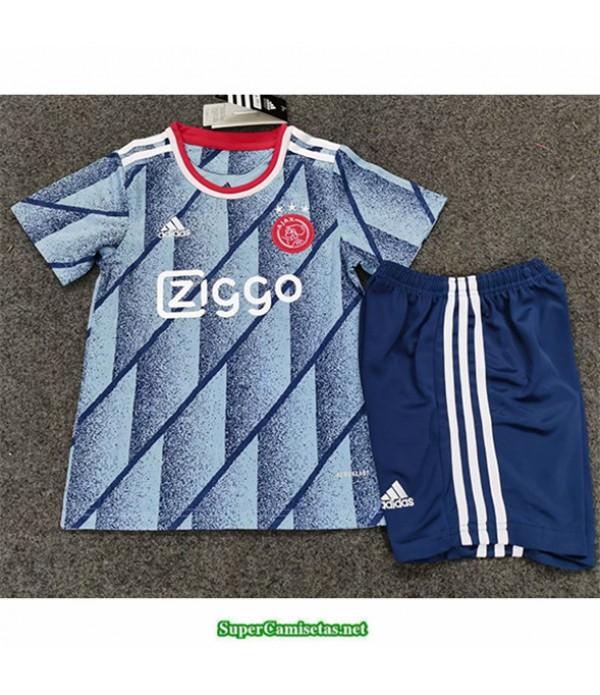 Tailandia Segunda Equipacion Camiseta Ajax Amsterdam Niños 2020/21