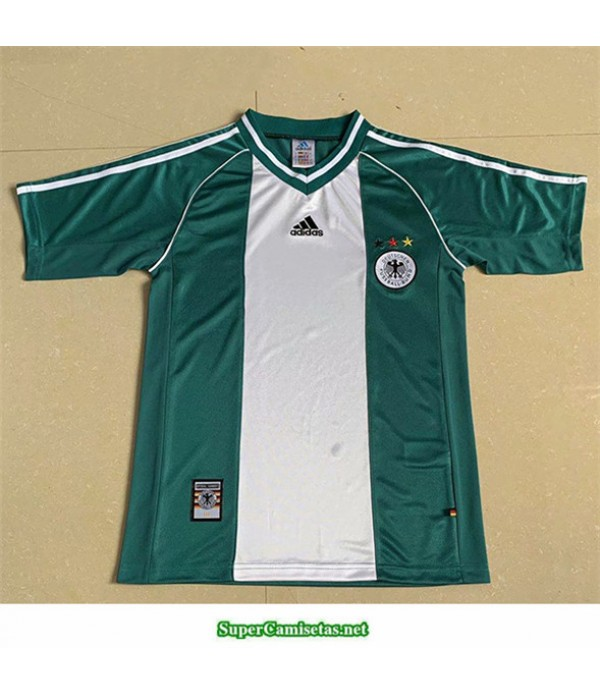 Tailandia Segunda Equipacion Camiseta Camisetas Clasicas Alemania Hombre 1998