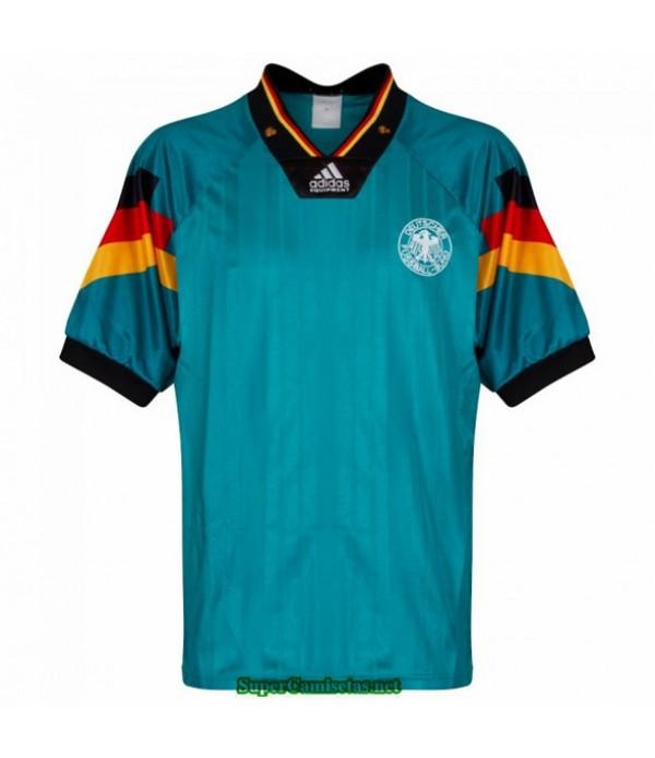 Tailandia Segunda Equipacion Camiseta Camisetas Clasicas Alemania Hombre Verde 1992