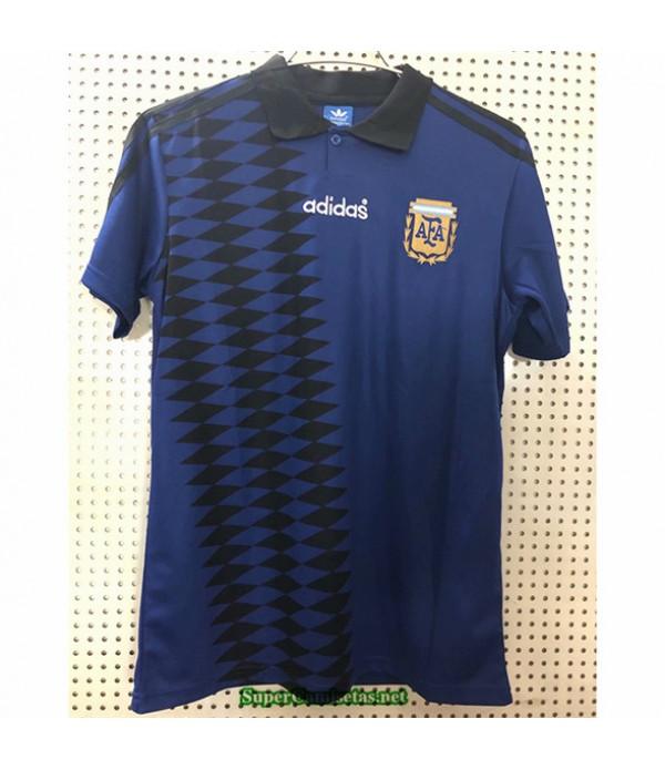 Tailandia Segunda Equipacion Camiseta Camisetas Clasicas Argentina Hombre 1994