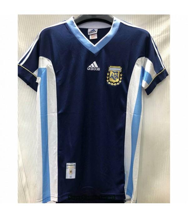 Tailandia Segunda Equipacion Camiseta Camisetas Clasicas Argentina Hombre 1998