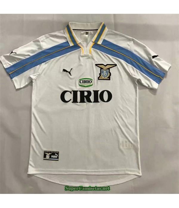 Tailandia Segunda Equipacion Camiseta Camisetas Clasicas Lazio Hombre 2000 01