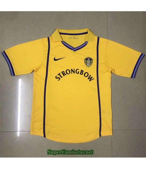Tailandia Segunda Equipacion Camiseta Camisetas Clasicas Leeds United Hombre 2000 01
