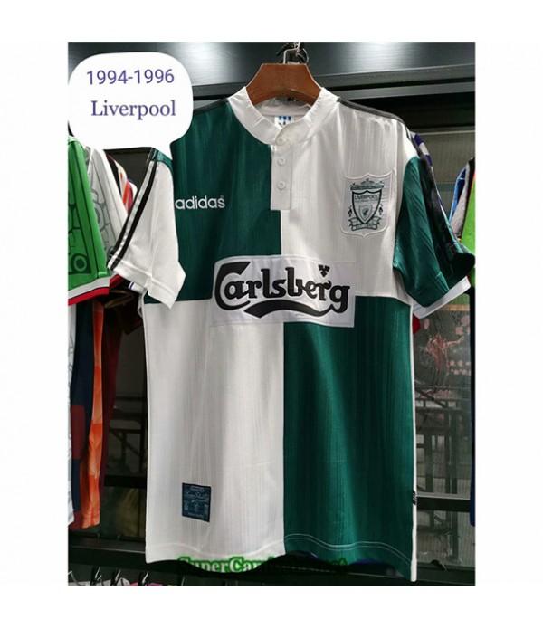 Tailandia Segunda Equipacion Camiseta Camisetas Clasicas Liverpool Hombre 1994 96