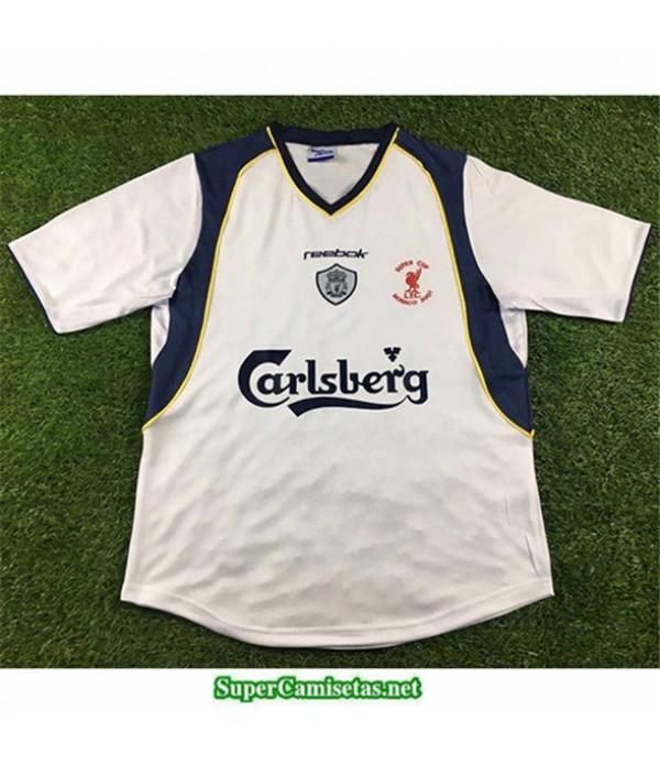 Tailandia Segunda Equipacion Camiseta Camisetas Clasicas Liverpool Hombre 2001
