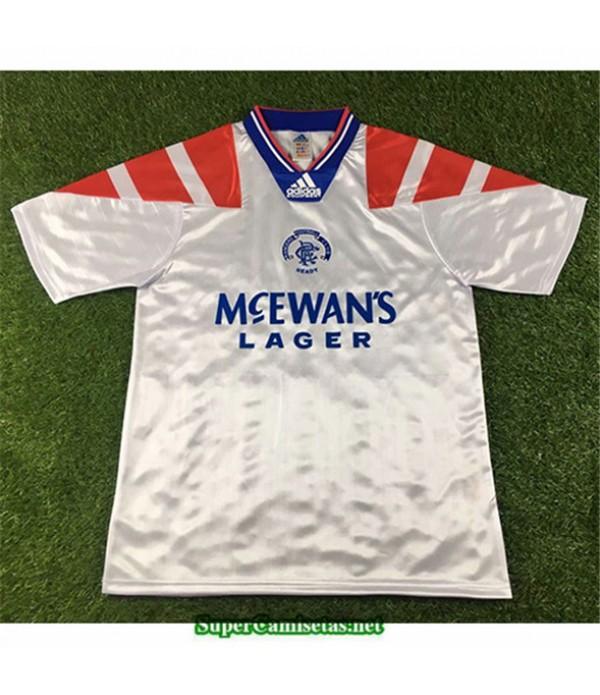 Tailandia Segunda Equipacion Camiseta Camisetas Clasicas Rangers Hombre 1992 94