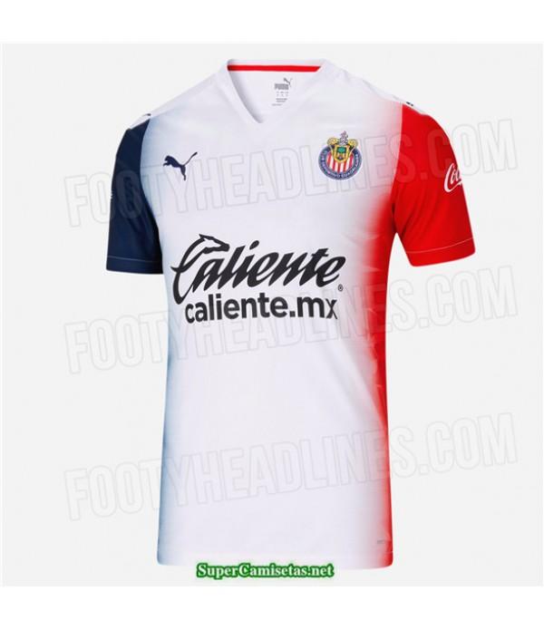 Tailandia Segunda Equipacion Camiseta Chivas De Guadalajara 2020/21