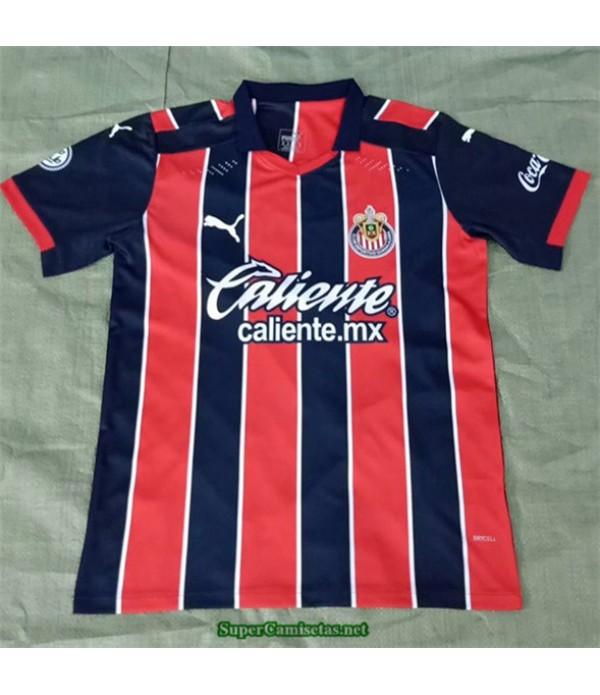 Tailandia Segunda Equipacion Camiseta Chivas De Guadalajara Rojo/negro 2020/21