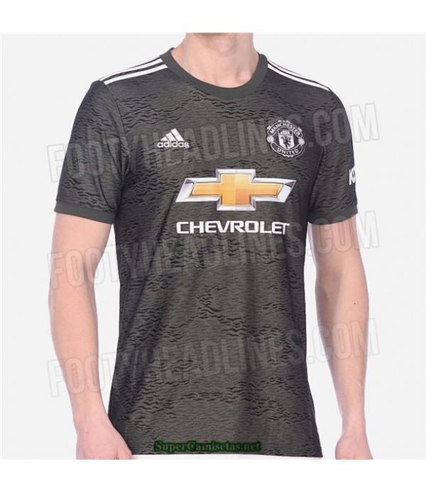 Tailandia Segunda Equipacion Camiseta Manchester United 2020/21