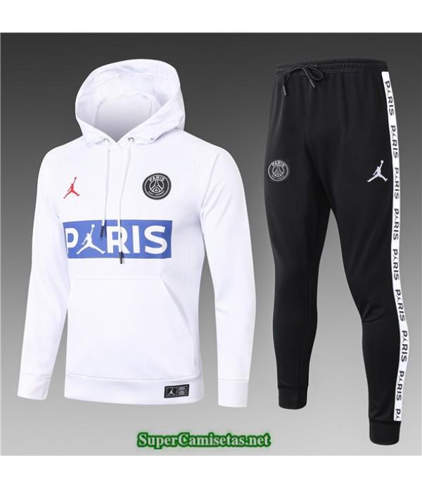 Tailandia Sudaderas De Futbol Paris Psg Jordan Niños Blanco Logo 2020/21