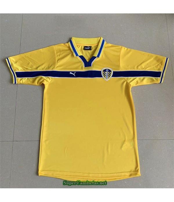 Tailandia Tercera Equipacion Camiseta Camisetas Clasicas Leeds United Hombre 1999