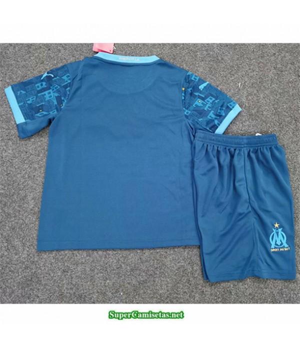Tailandia Tercera Equipacion Camiseta Marsella Niños 2020/21