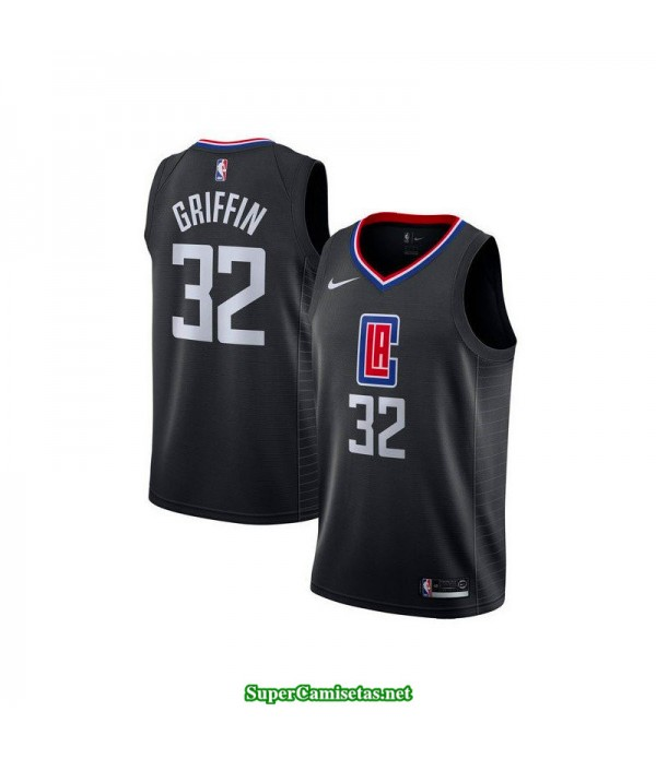 Camiseta Griffin 32 negra Angeles Clippers