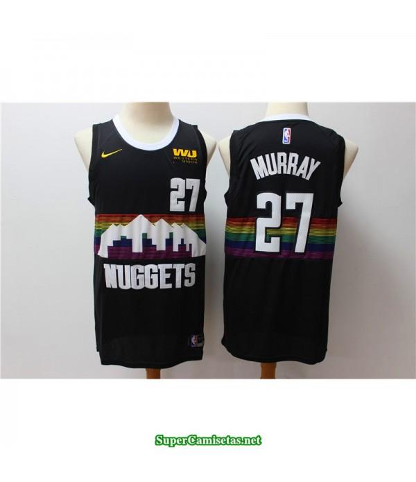 Camiseta Murray 27 negra Denver Nuggets