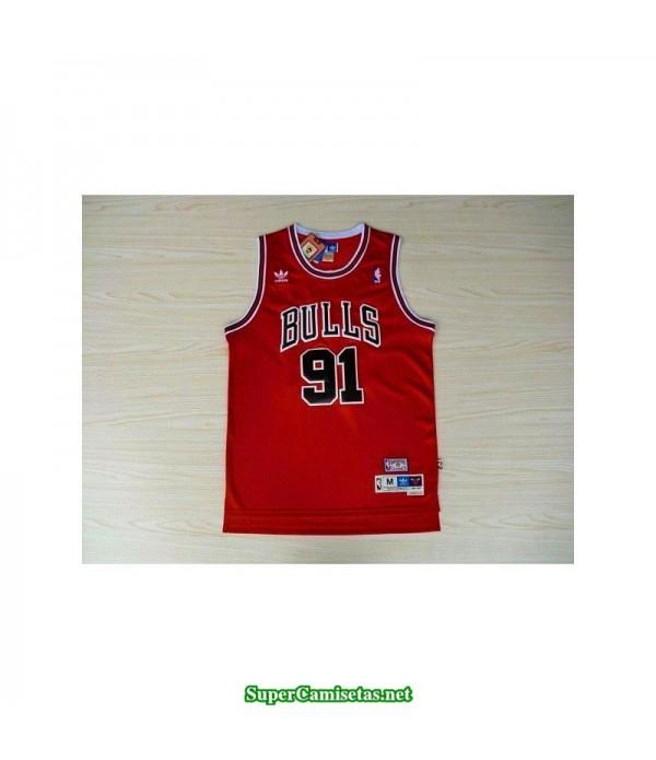 Camiseta Rodman 91 hardwood classic Chicago Bulls