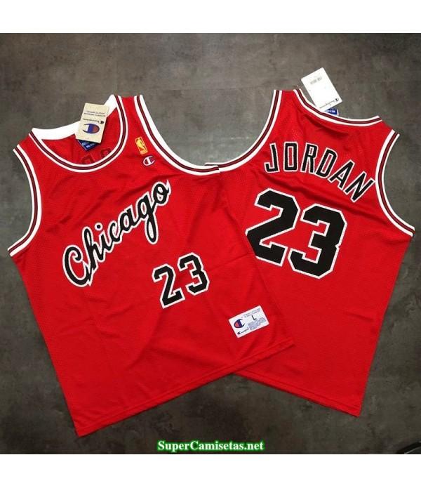 Camiseta Michael Jordan 23 chicago bulls retro roja