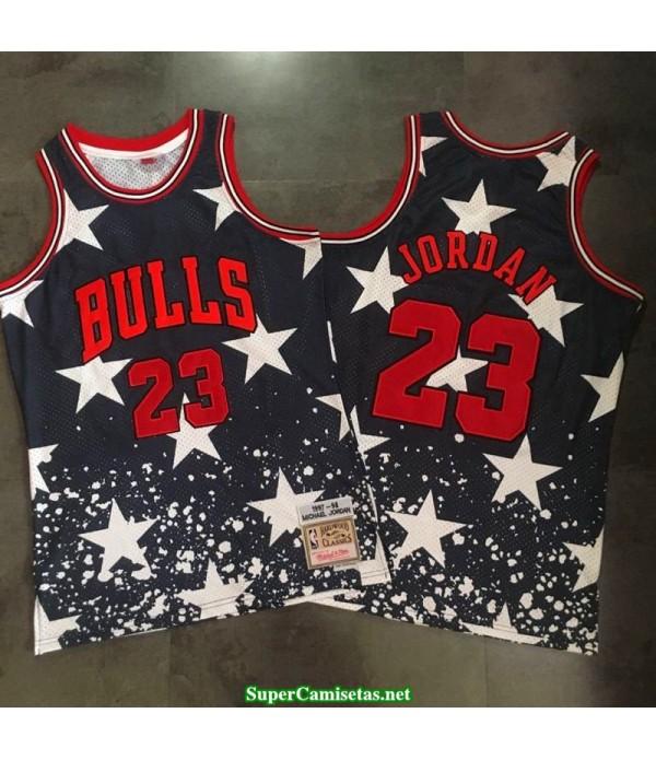 Camiseta Michael Jordan 23 harwood estrellas Chicago Bulls