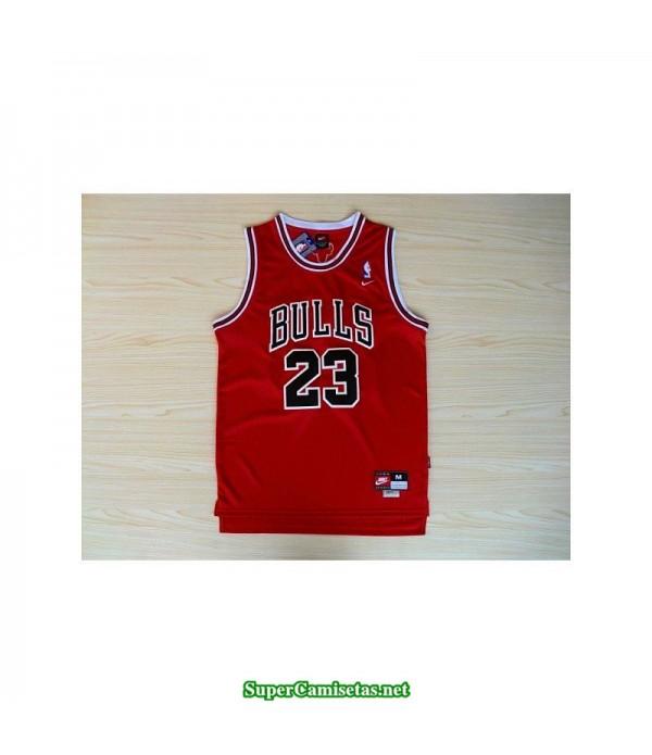 Camiseta Michael Jordan 23 roja Chicago Bulls