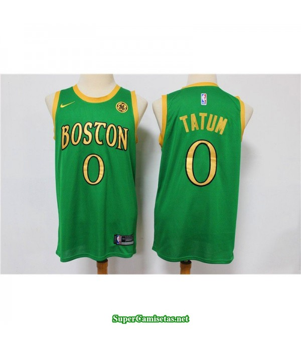 Camiseta Tatum 0 gold Boston Celtics
