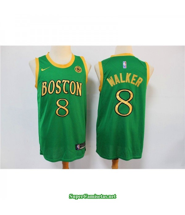 Camiseta Walker 8 gold Boston Celtics