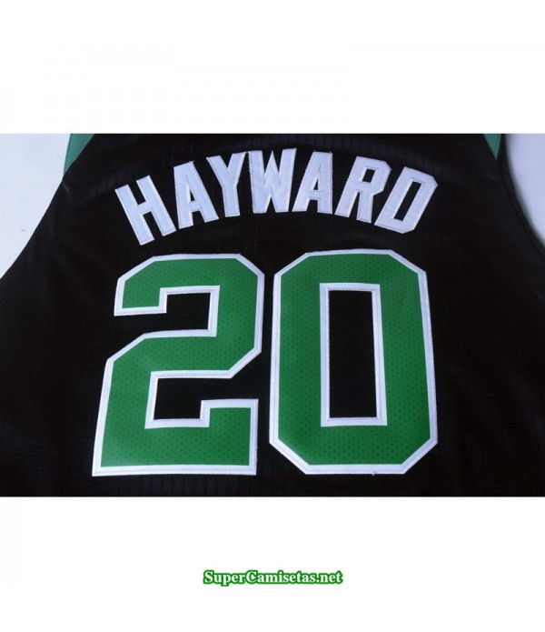 Camiseta Hayward 20 negra Boston Celtics