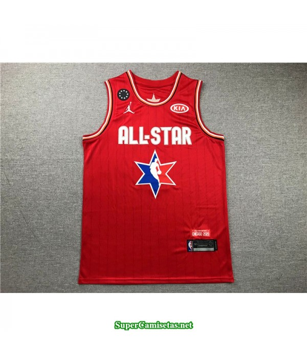 Camiseta Allstar James 2 roja 2020
