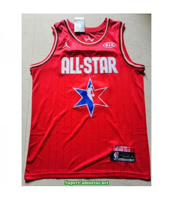 Camiseta Allstar Kobe Bryant roja 2020