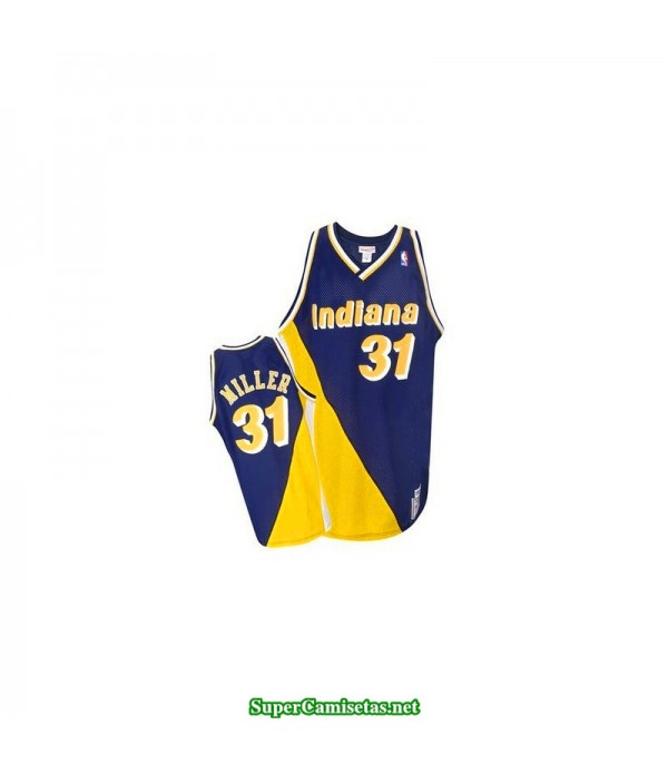 Camiseta retro Miller 31 Indiana Pacers