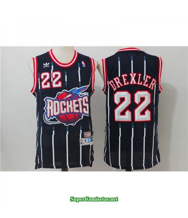 Camiseta Drexler 22 hardwood classic Houston Rockets
