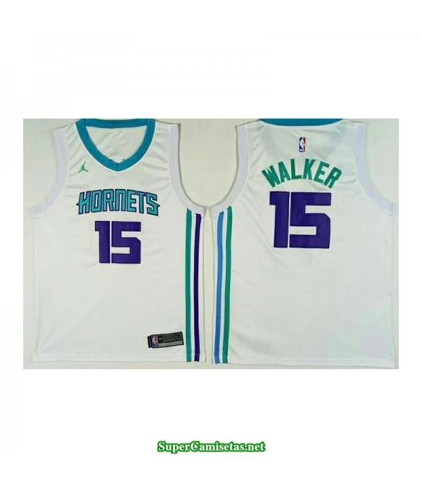 Camiseta 2018 Walker 15 blanca New Orleans Pelicans