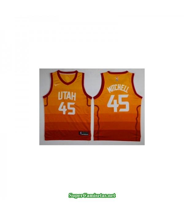 Camiseta Niños Mitchell 45 naranja