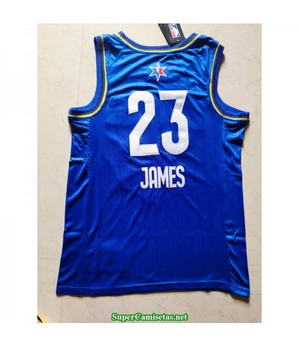 Camiseta Allstar James 23 azul 2020