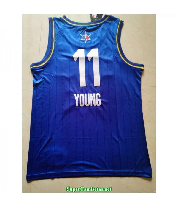 Camiseta Allstar Young 11 azul 2020