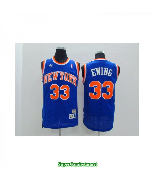 Camiseta Ewing 33 azul New York Knicks