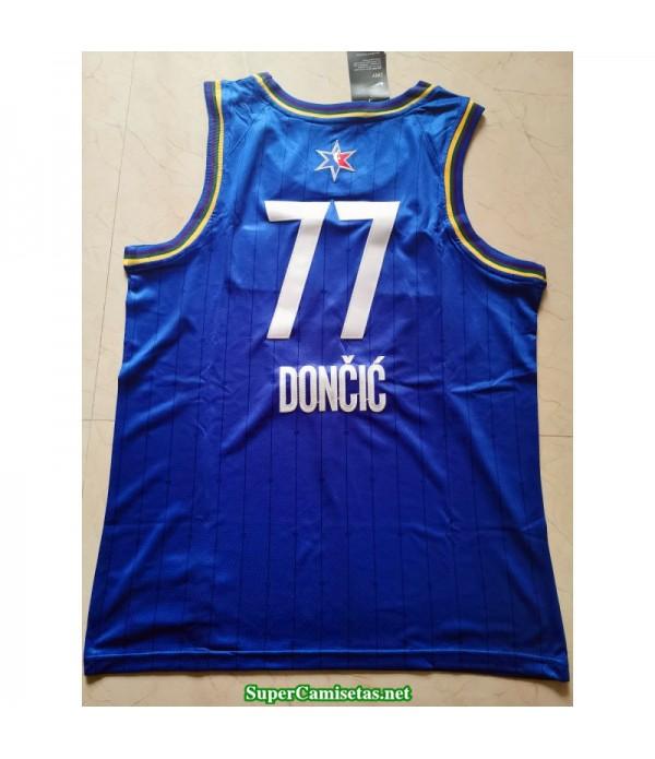Camiseta Allstar Doncic 77 azul 2020