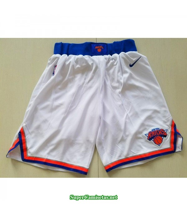 Pantalon 2018 blanco New York Knicks