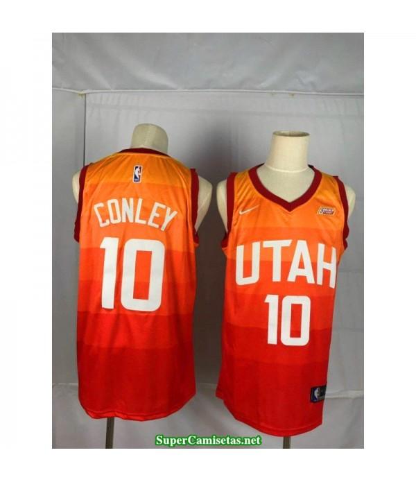 Camiseta Conley 10 naranja Utah Jazz