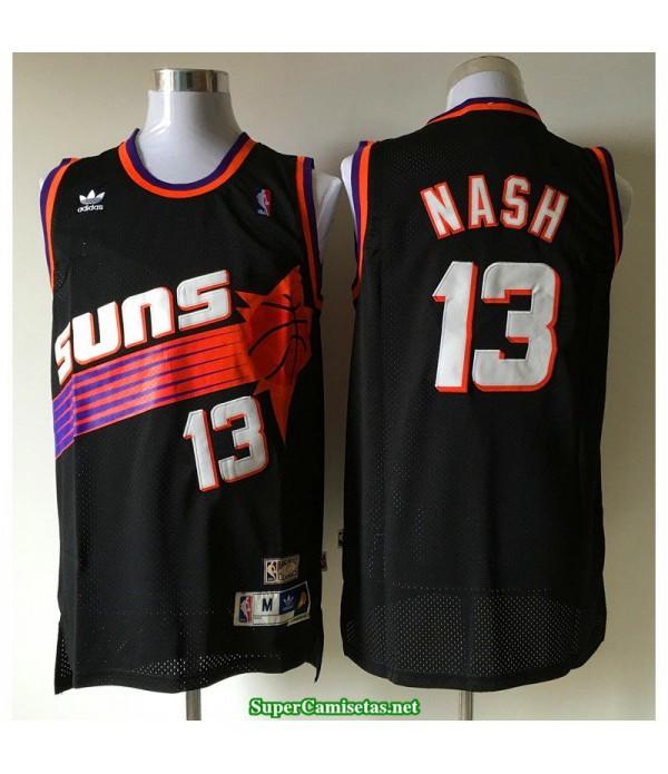 Camiseta Nash 13 negra Phoenix Suns 2020