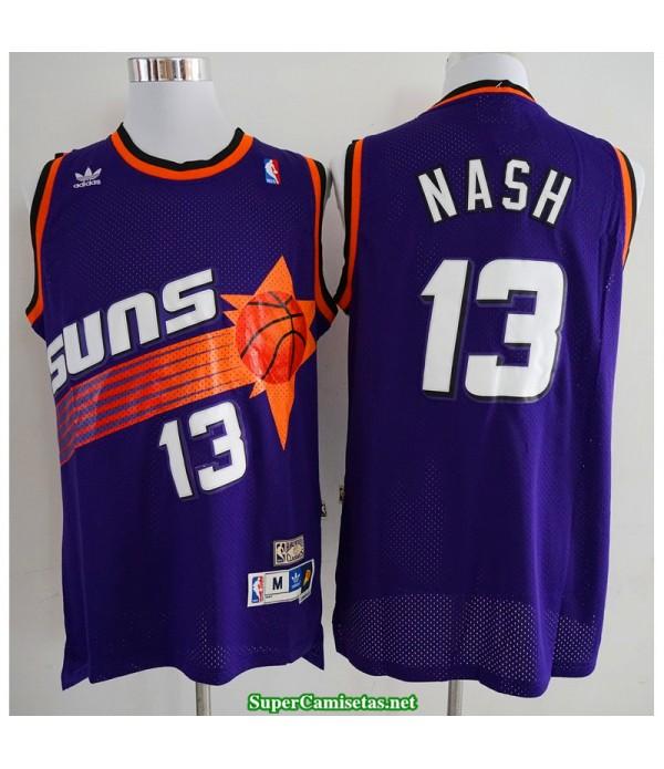 Camiseta Nash 13 morada Phoenix Suns 2020