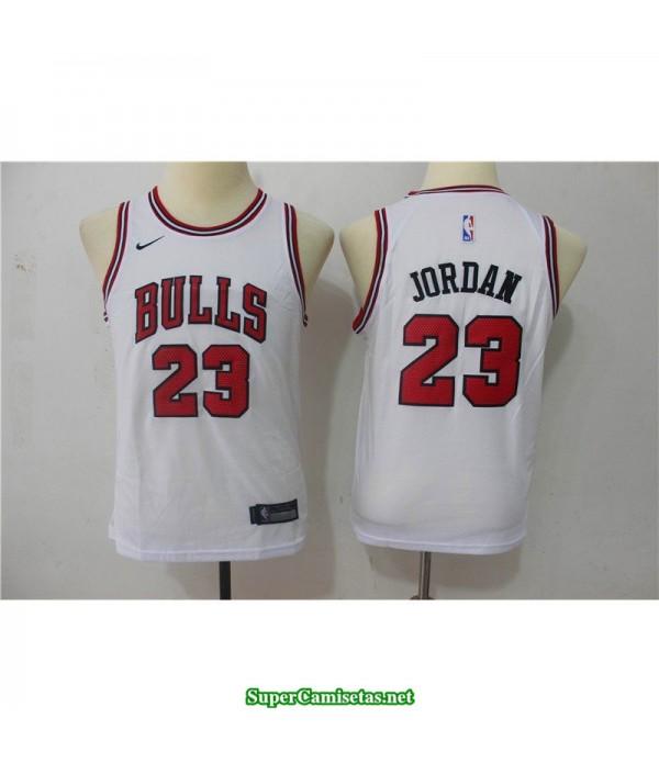 Camiseta NIÑOS Michael Jordan 23 blanca