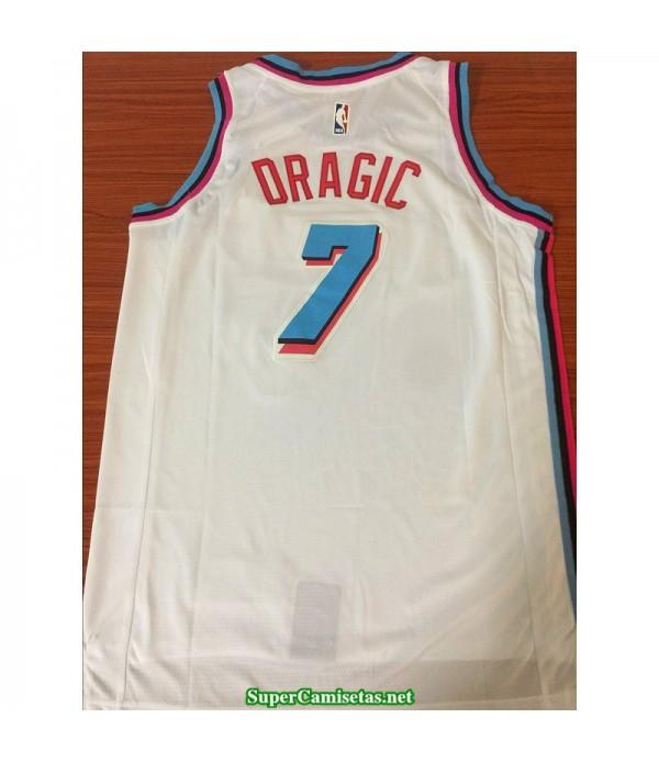 Camiseta Oragic 7 blanca b Miami Heat