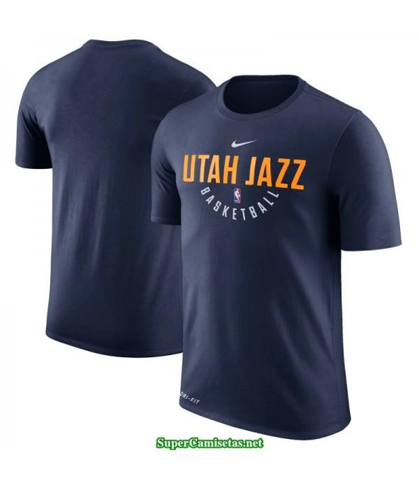 Camiseta Jazz Utah Manga Corta